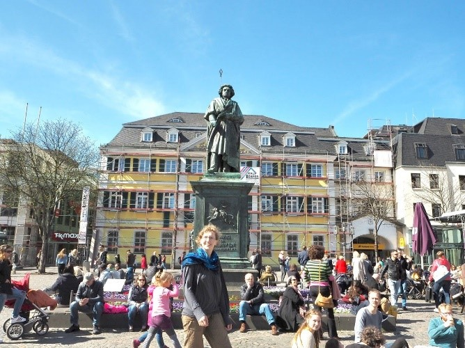ドイツ・ボン大学に留学